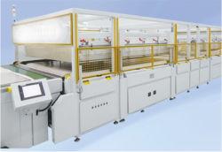 شاشة تعمل باللمس عالية الكفاءة من النوع الجديد، نظام الطاقة الشمسية القياسي ماكينة الكبريتات للخلية للبيع