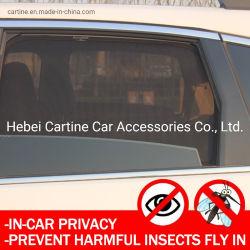 4pcs/Set parasoles de coche magnético de la ventana lateral malla sombra