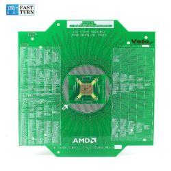 Giro rápido de semiconductores de Oro Duro Prototipo de placa de circuito impreso PCB