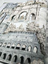 Beroemde Historische Plaatsen die Wereldwijd van de Kunst van het Behang van het Landschap 3D Document van de pvc- Muur schilderen