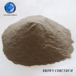 Brown/Blanco/Negro Corindón de lija de óxido de aluminio