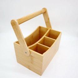 2021 신선한 대나무 말린 과일 상자 휴대용 과일 바구니 접기 캔디 박스 보관함 다기능 도구 상자