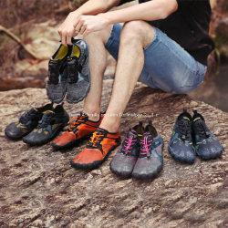 Vijf Schoenen In het hele land van het Strand van de Traceur van de Schoenen van de Bergbeklimming van de Riem van de Schoenen van de Vinger Zwemmende Antislip OpenluchtIn te ademen