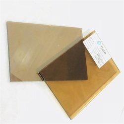5mm-12mmの1650mmx2140mm金青銅色の暗い青銅色の反射ガラス(R-GB)