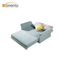SofabedのChaiseのラウンジのソファーベッドの携帯用ソファーベッドを折りなさい