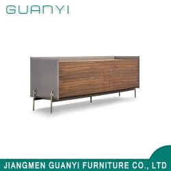 Estilo moderno corredor lateral sala de armazenamento de caixa em madeira