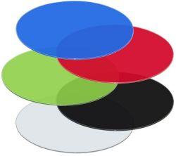 Цвет лакированная круглые стекла Бич в таблице