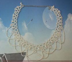 Collari sfilabili con bordino di moda e colletto in gioielli per matrimoni femminili Abito