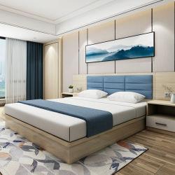 簡単なヨーロッパデザイン経済的なクラスの白いカラーによって薄板にされるホテルの寝室の家具