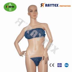 Salón de belleza de un solo uso de PP no tejido de sostén y Bikini