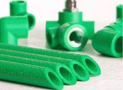 핫용 녹색 및 흰색 플라스틱 PPR 파이프 부식 방지 기능이 있는 냉수 공급