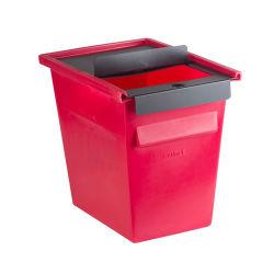 38 لترًا (10 جالوات) حاوية الشربس القابلة لإعادة الاستخدام حاوية النفايات الطبية الحيوية للتخلص من المحاقن وتهدر أسماك القرش