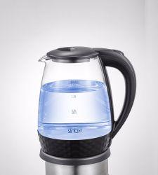 大きい販売の良い業績のガラス電気やかんZy-034