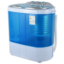 3 kg Mini draagbare wasmachine kleine wasmachine met lits-jumeaux