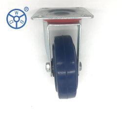 Fabricante Wbd Industrial 5 polegadas 90kg rodas Carts borracha elástica Rodízios da roda
