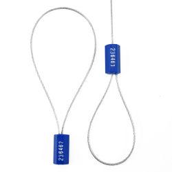 Sigilli per cavi di sicurezza fascette per cavi in metallo autobloccanti in acciaio per bloccaggio del contenitore Guarnizione per filo per tenuta in autocisterna