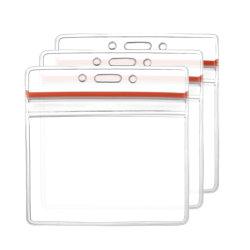 El Titular de Tarjeta de PVC transparente personalizado Titular de Tarjeta de plástico suave