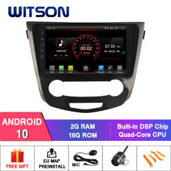 """Witson 10,2"""" большой экран Android 10 DVD для автомобилей Nissan X-Trail (СРЕДНЯЯ/ВЫСОКАЯ) 2014"""