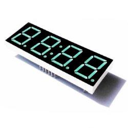 شاشة LED بحجم 2.3 بوصة ذات 7 مقاطع بلون أحمر