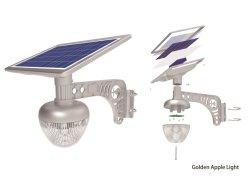 Toda a iluminação noturna Jardim Solar Luz Luz Apple 10W com marcação, RoHS e CB