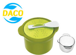 Nuevo diseño personalizado de vapor para microondas utensilios de cocina arroz cubiertos.