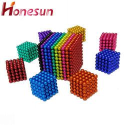 セリウムの教育おもちゃ5mm球のネオジムの磁石の球