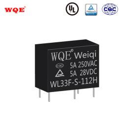 Smart Electronics Mini 5 broches du relais de puissance à montage sur carte circuit imprimé wl33f