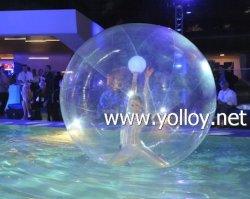 Sfera ambulante gonfiabile libera dell'acqua della bolla
