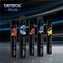 2021 Última Mini Vape Tastefog T-Plus Dtl Dispoasble e cigarros de feltro