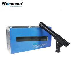 Alto microfono professionale collegato Pg81 sensibile del microfono di condensatore del microfono
