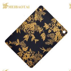 Gravação de ouro da chapa de aço inoxidável 201 304 316 430 Elevador decorados com placas de aço inoxidável