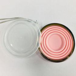 Draagbaar Travel Custom Logo Eco-vriendelijk BPA-vrij herbruikbaar inklapbaar Siliconen koffiekopset met deksel
