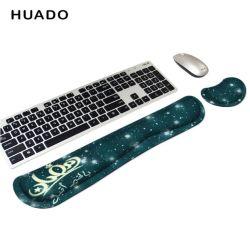 Набивку из пеноматериала памяти долговременного удобные Keybaord Коврик выполнен