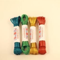Un service de blanchisserie Piscine Ligne de lavage Chiffon PE Clothes Line durable en PVC