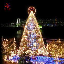 Riesige im Freienled beleuchtet Weihnachtenkünstlichen Belüftung-Weihnachtsbaum mit Weihnachtsverzierung-Weihnachtsbaum-Hersteller