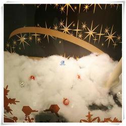 2020 La moda de alta magia de poliéster de Faux Loft nieve pelusas