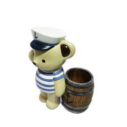 동물 동상 곰 피구뇨 수지 몰드 아트 기념품 공예 옥외 조각 장식