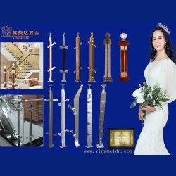 Colonna intagliata magnesio di alluminio della guardavia della scala dell'acciaio inossidabile di alta qualità