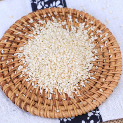 Exporter des matières Les graines de sésame blanc HACCP Certificat ISO avec échantillon gratuit