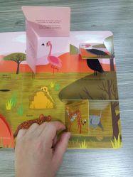 Conseil livre / basculée Livre / Pop-up en 3D enfants livre avec impression couleur Die-Cut