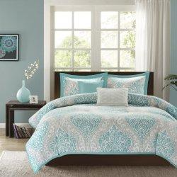 100% poliéster con conjuntos de ropa de cama confortable diseño liso