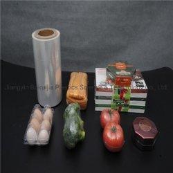 Pellicola calda ecologica dell'involucro della pellicola di Shrink dell'imballaggio di alimento POF