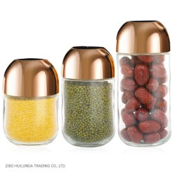400 ml 650 ml 1100 ml loodvrije ecologische, vergulde glazen voeding van hoge kwaliteit Bewaarfles