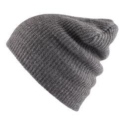 Planície grossista Beanie Tricô personalizado tampa de esqui no Inverno Quente Hat executando Chapéus Beanie Lã em branco