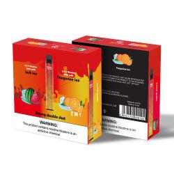 2021 Nueva promoción de productos desechables, bolitas de 2400 2 en 1afrutado cigarrillo electrónico