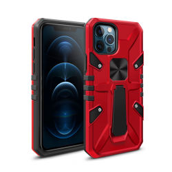 360 Auto van de Schokbestendige Houder van de Ring van de Steun van het metaal zet de Magnetische het Hybride Geval van de Telefoon Kickstand voor iPhone op 12 PRO Maximum
