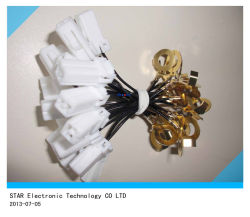 Custom Pin Molex de fábrica de la Terminal de cable