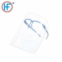 Mdr ce verre de protection jetables de sécurité agréée Protection du visage avec l'épaisseur de 0,25 mm