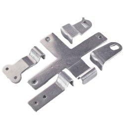 Kundenspezifische Präzisions-Edelstahl-und Aluminium-kupfernes Bronzemessingblatt-Teilgroße geschwindigkeit, die Stück-das progressive geformte Terminalmetalteil-Stempeln bildet