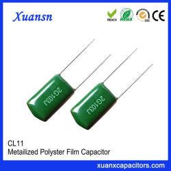 Pequeña pérdida Capacitor Cl11 103J400V de Condensadores de poliéster